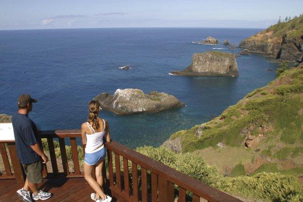 Norfolk Island Lookout. Credit Norfolk Island Tourism.