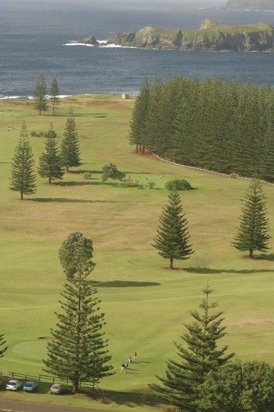 Norfolk Island Golf Course. Credit: Norfolk Island Tourism