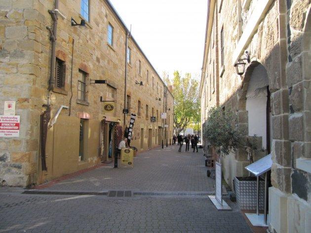 Salamanca Place in Hobart